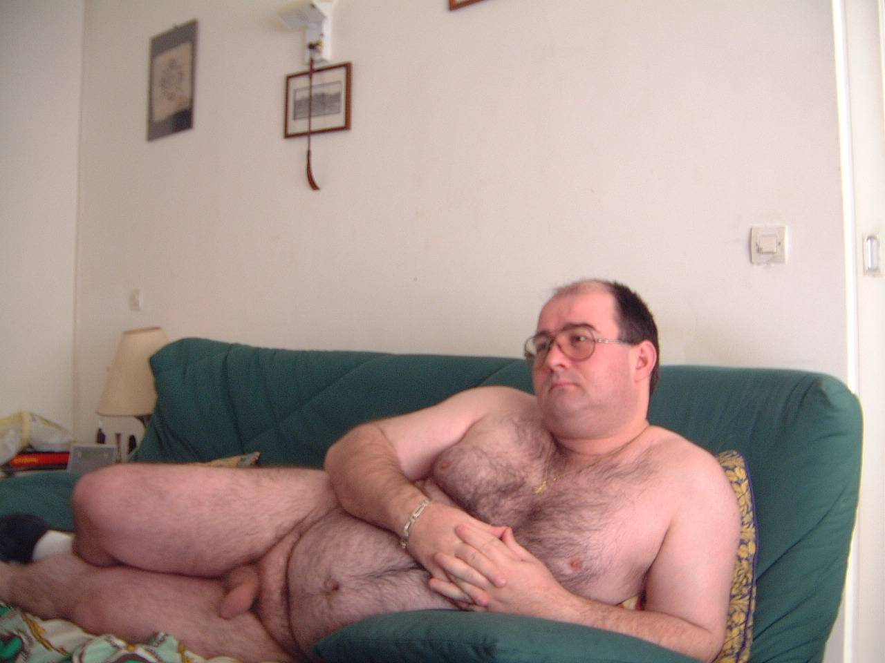 Fat naked men hot