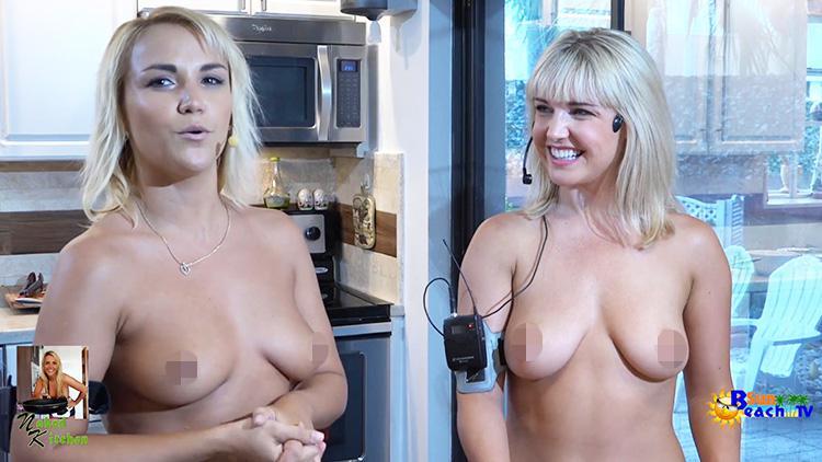 Tv show hostess nude