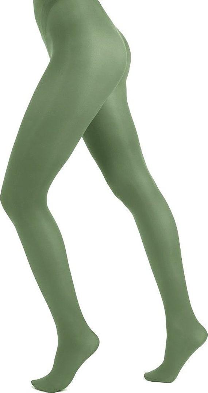Women in green pantyhose