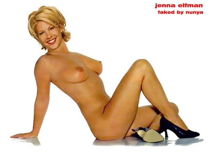 Jenna elfman porn
