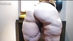 Bbw cellulite ass and pussy