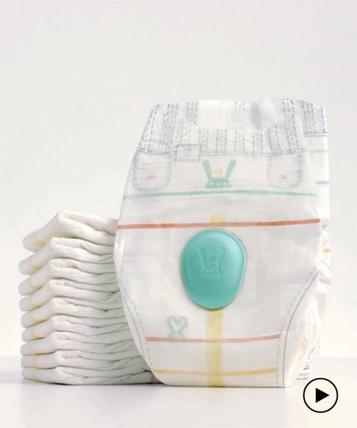 A long trip pee diapers