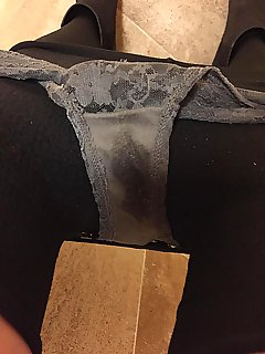 Dirty and wet panties