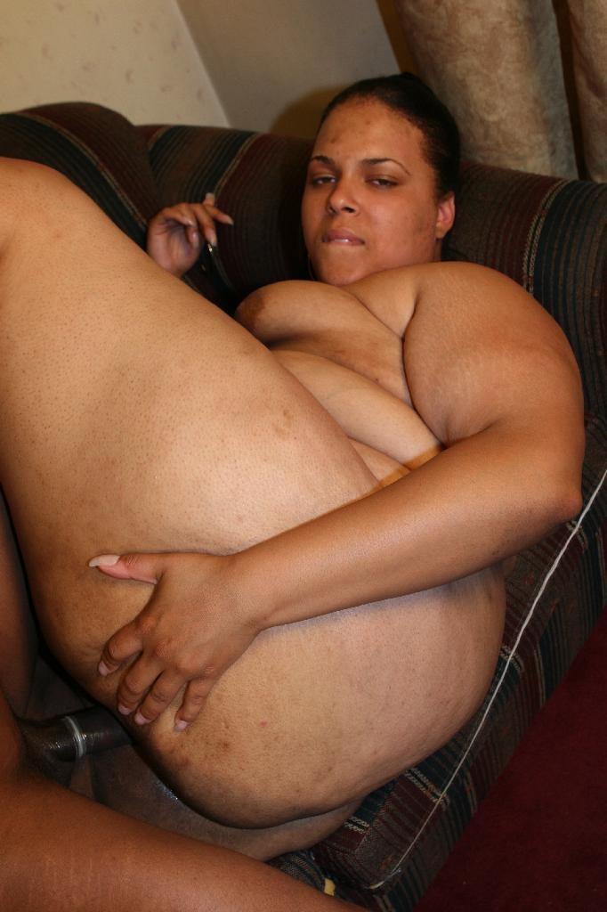 Thighs ebony naked nude big