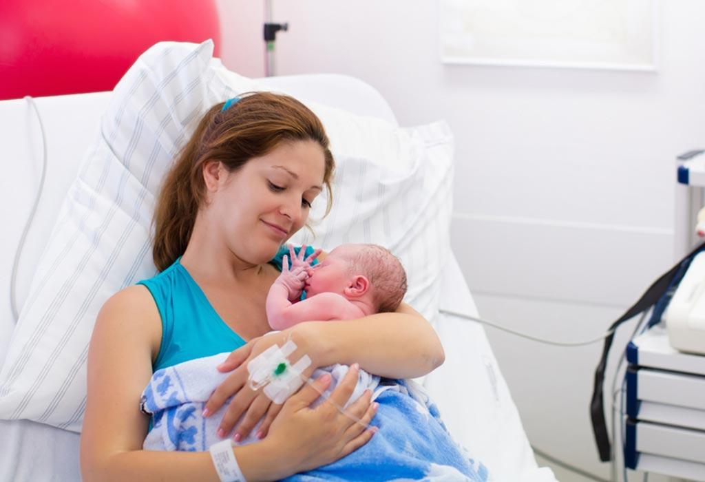 Vaginal discharge newborn