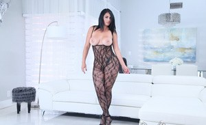 Glamour babe stockings lingerie