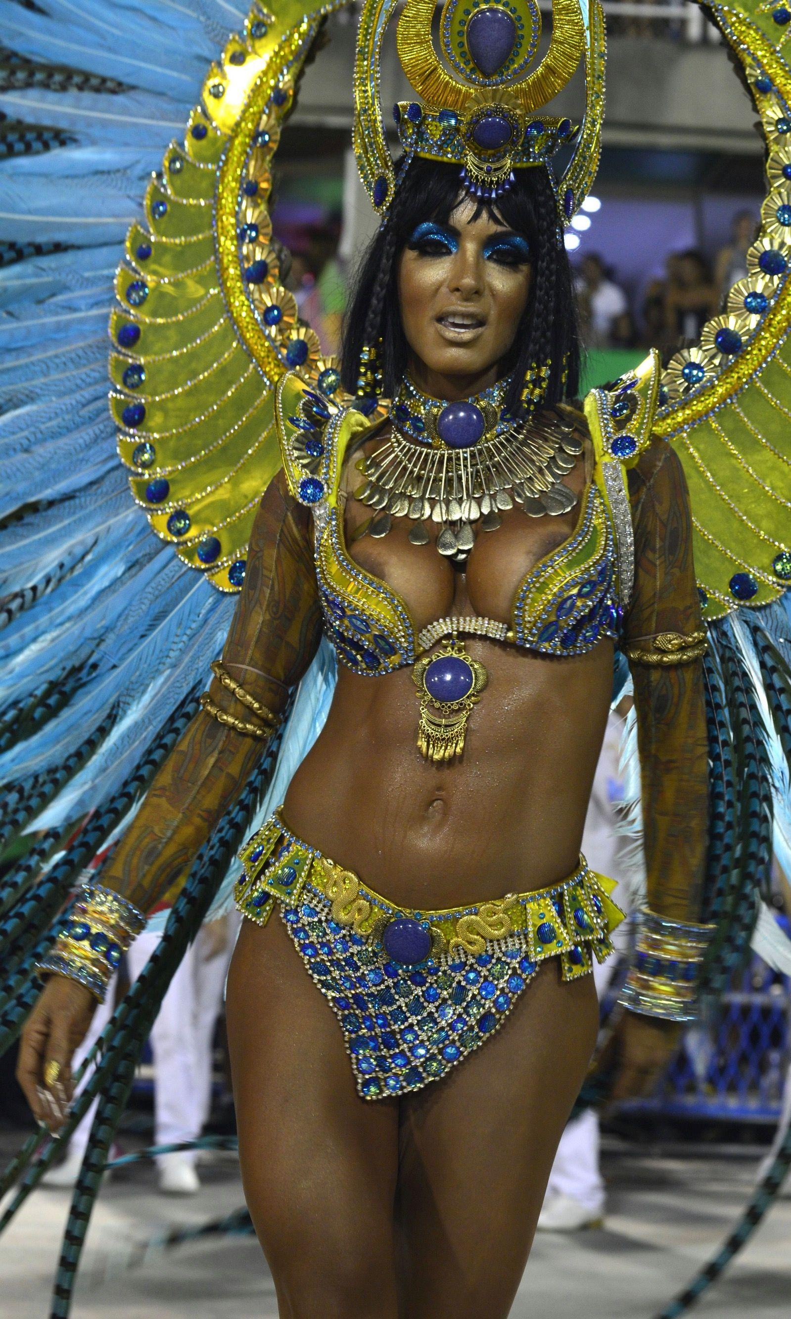 Brazilian carnival dance pussy