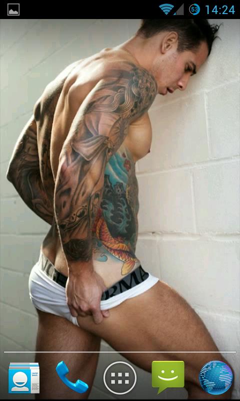 Tattoo men nude xxx