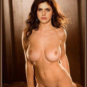 Naked pregnant women anal stocking