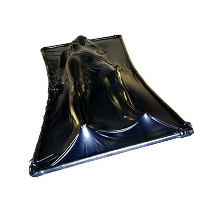 Latex vacuum bed sex