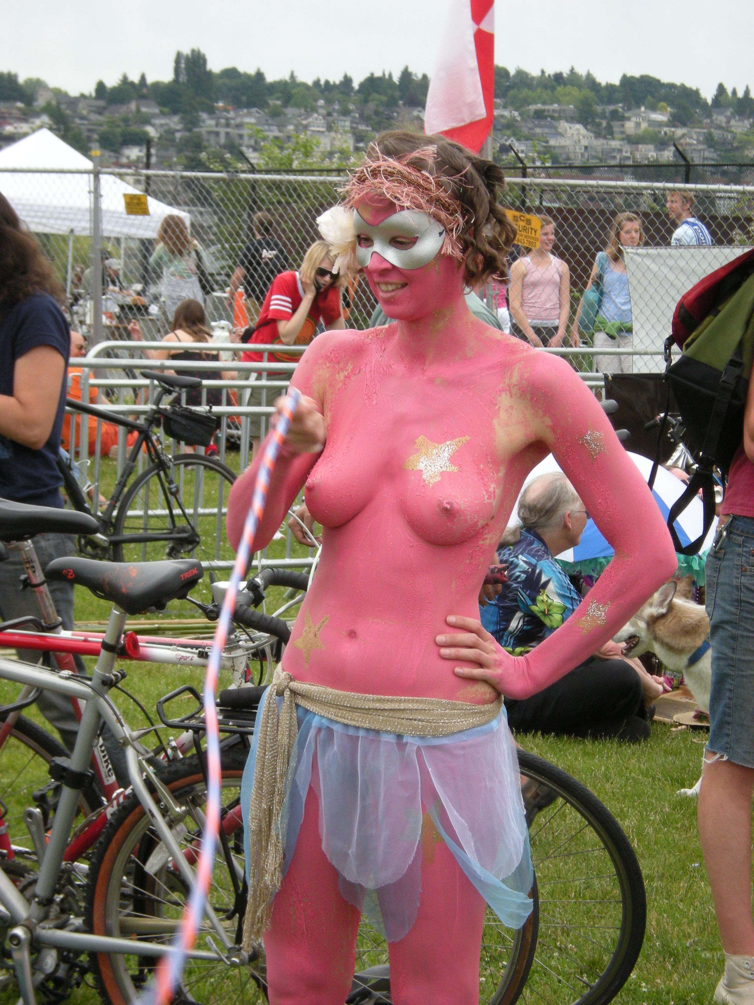 Cfnm fremont solstice paint party