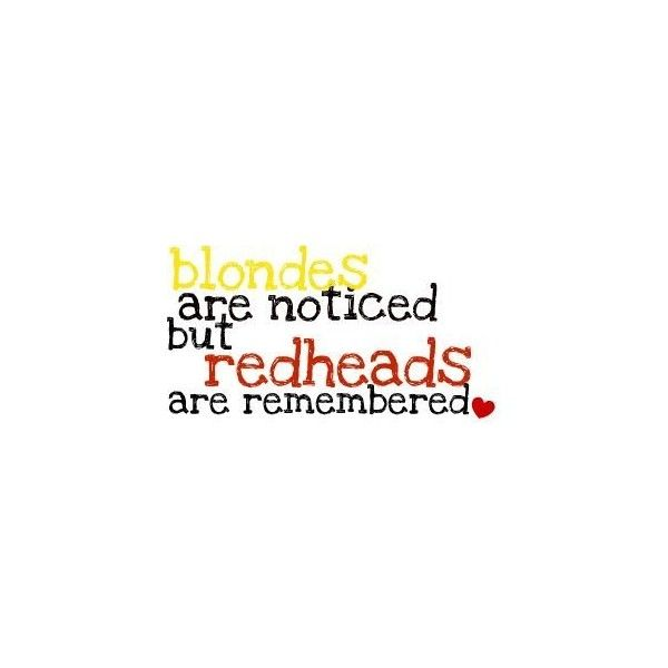 Blonde john redhead kelsey