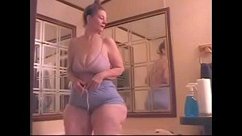 Bbw granny wide hips nylon