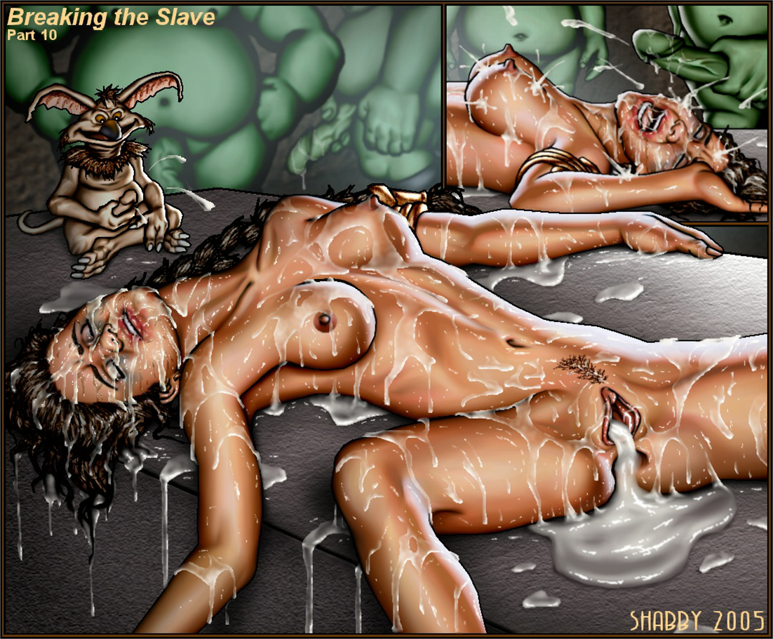 Slave leia bondage hentai
