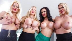 Hot pornstars big tits lesbians