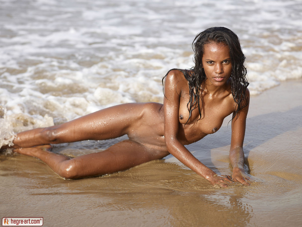Hegre valerie on the beach naked