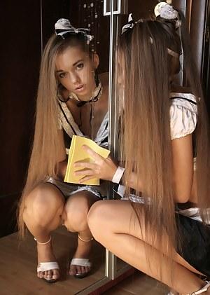 Long hair porn girl