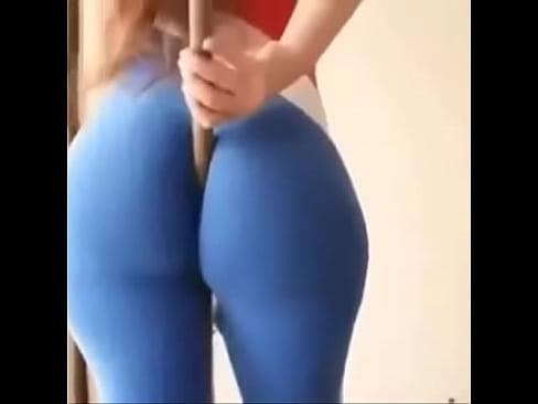 Big ass spandex porn