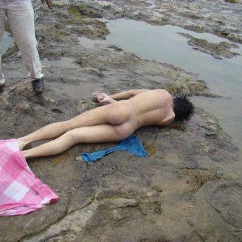 Women naked death