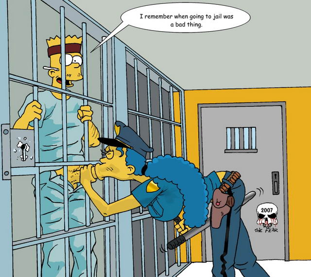 Marge and bart simpson porn comic