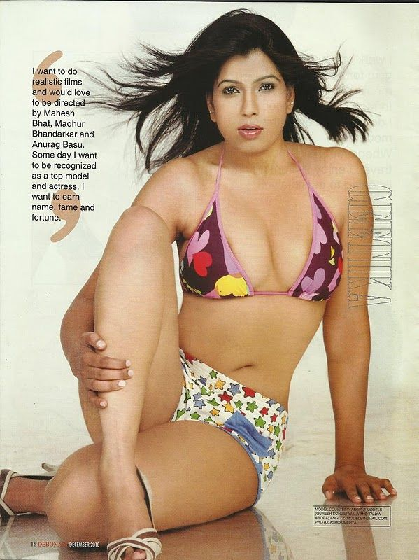Nude indian debonair models