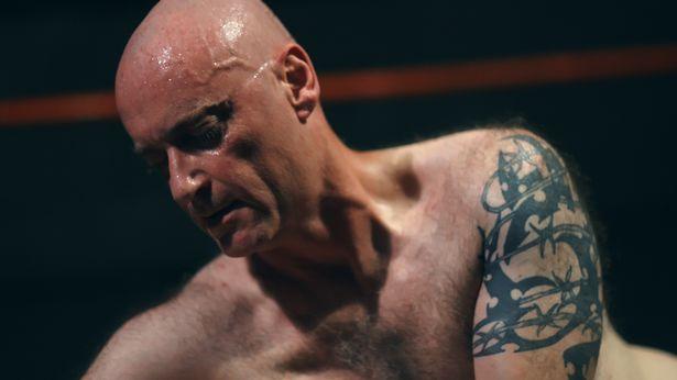 Wrestling men sweaty nude