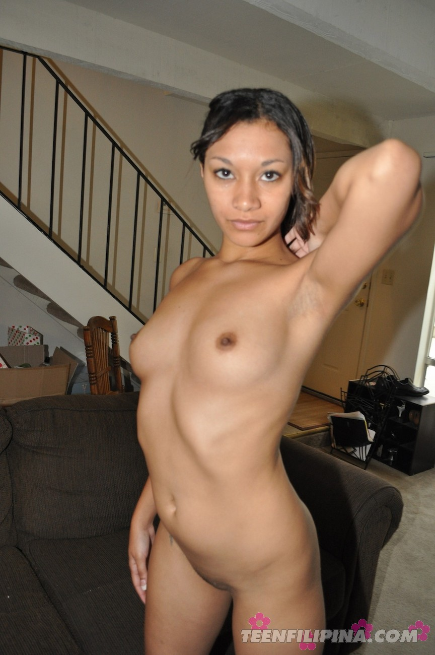 Mixed race nude beautiful girl