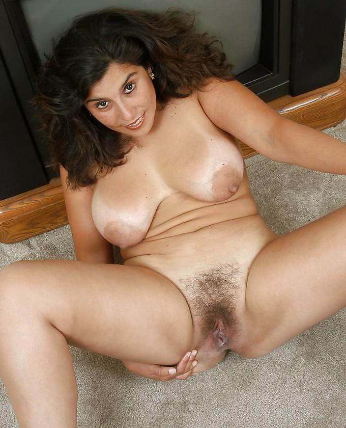 Boobs and hairy pussy