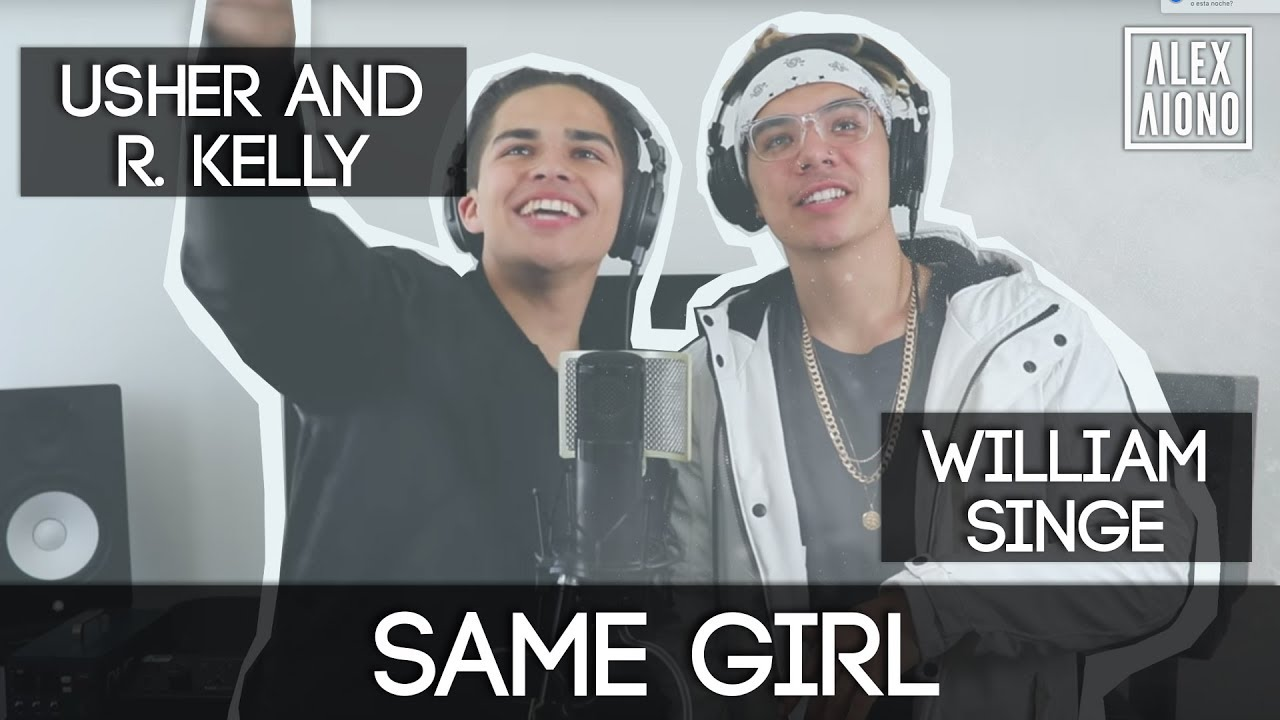 R kelly and usher same girl lyrics