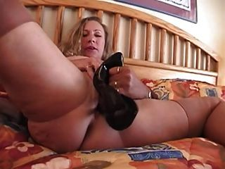 Short skirt stockings high heels homemade fuck
