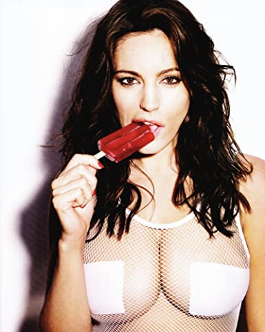Hot girl with popsicle