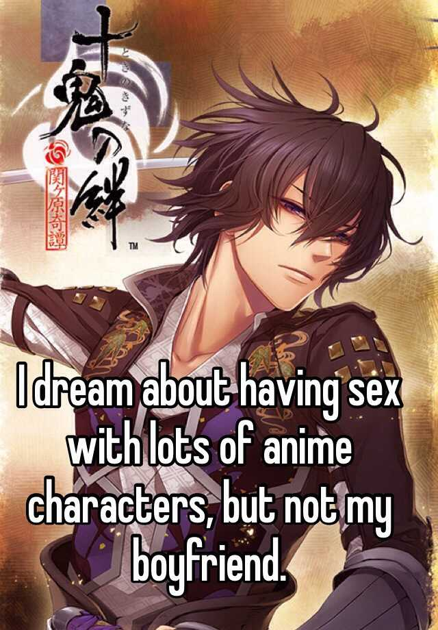 Anime characters having sex