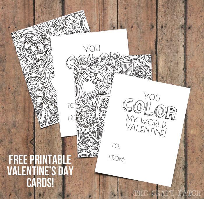 Free printable adult card