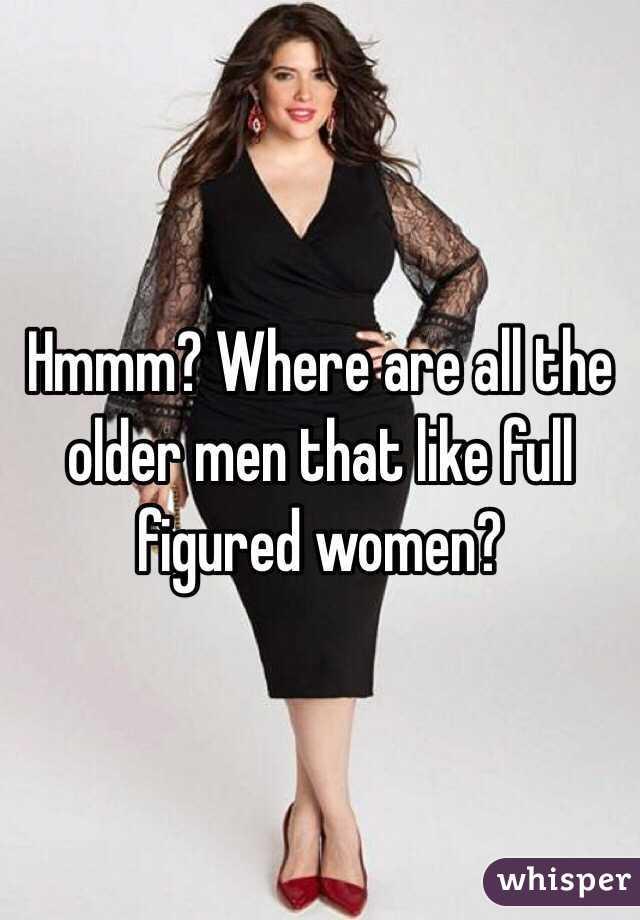 Older full figured women