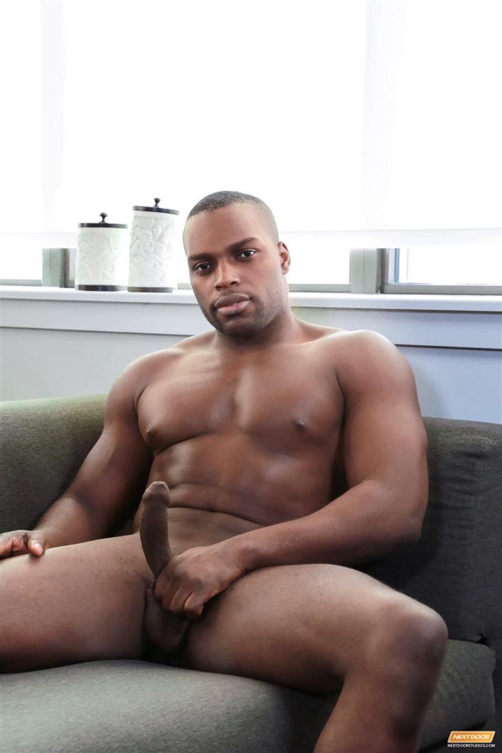 Nice black man uncut dick