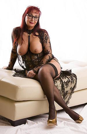Mature stocking sexy pics