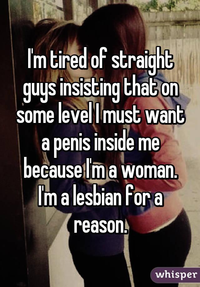 Penis inside of me