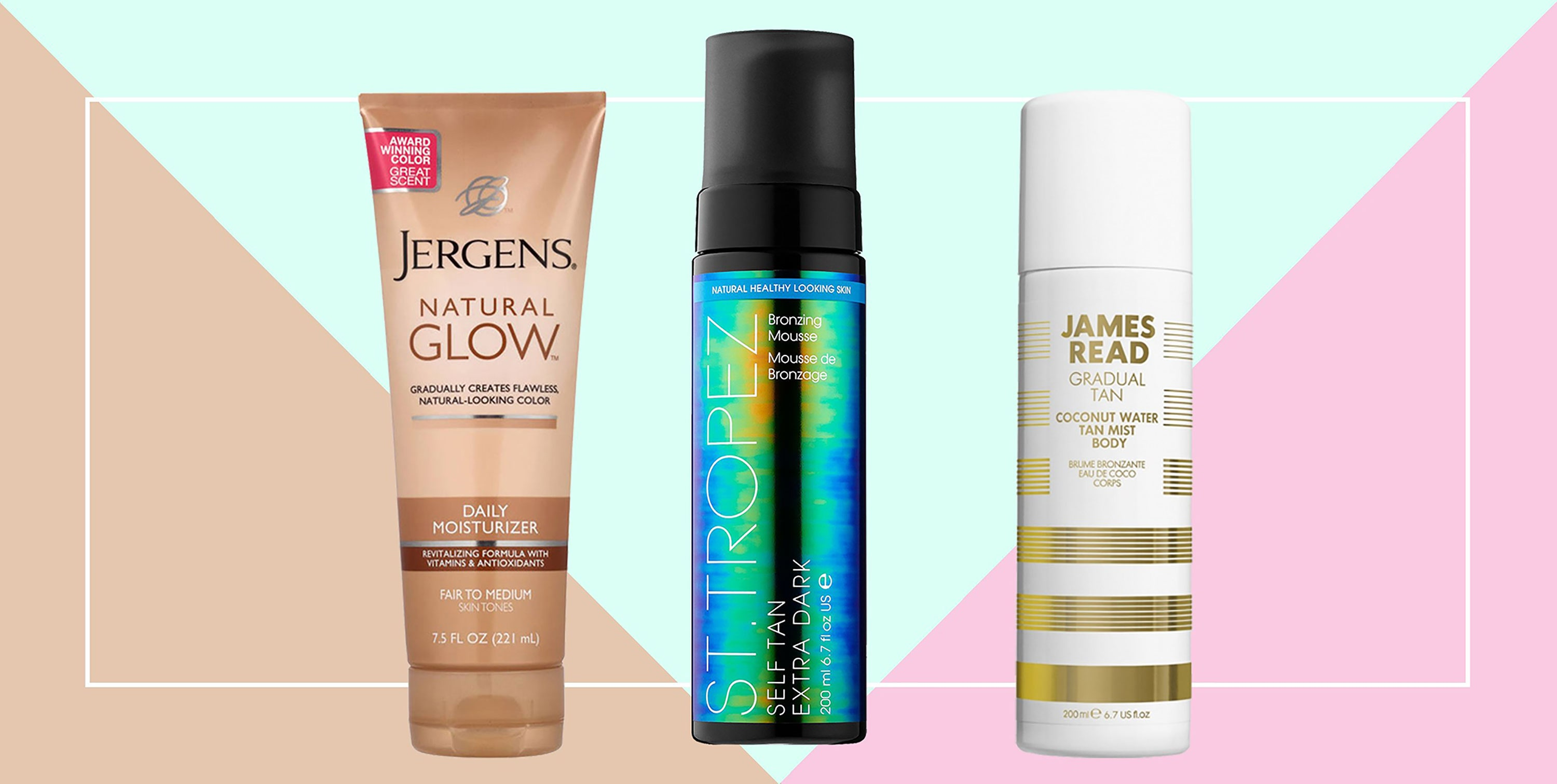 On facial before lotion products sunless