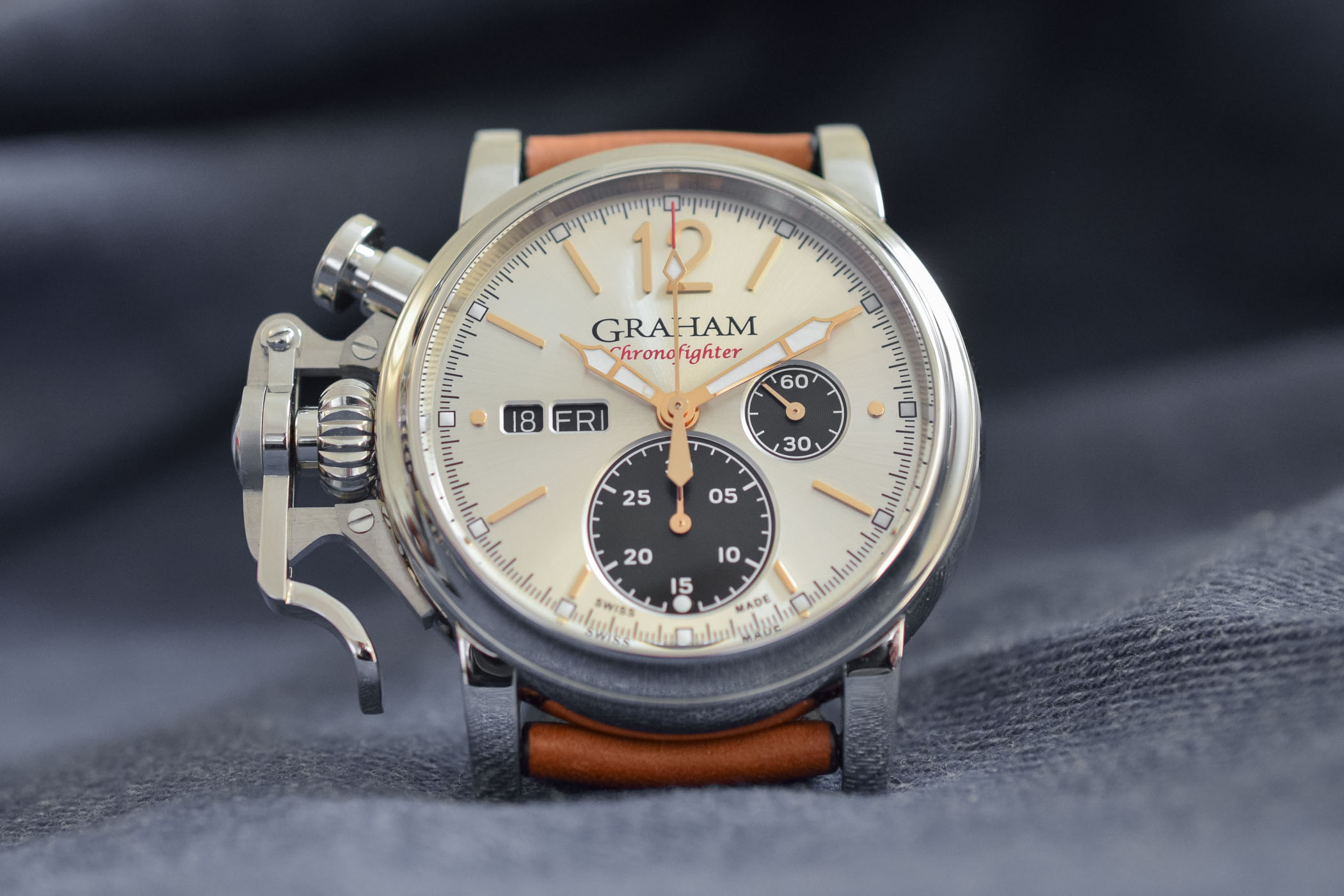 Vintage west german airforce chronograph watches