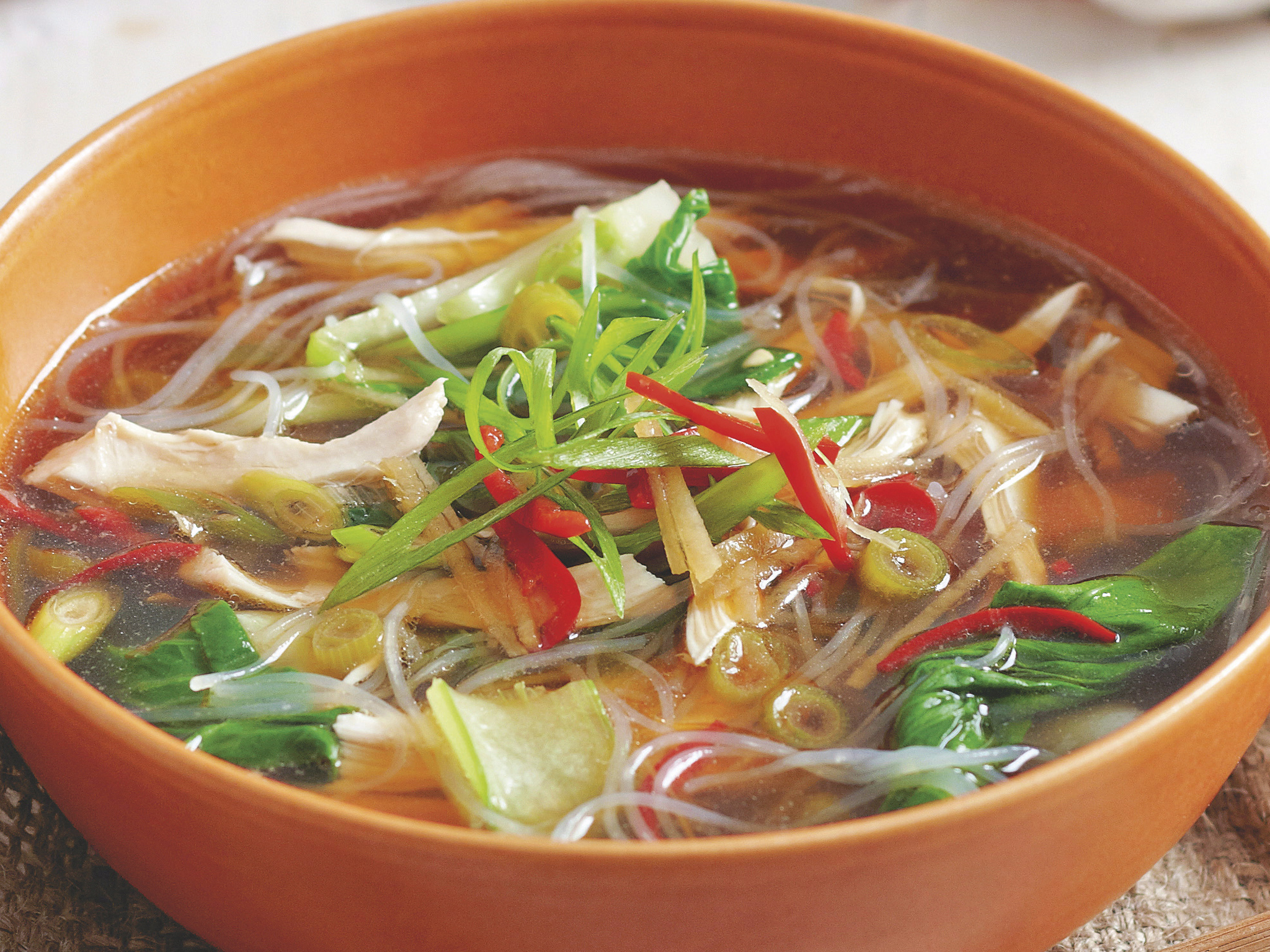 Asian chicken noodle soup recipes