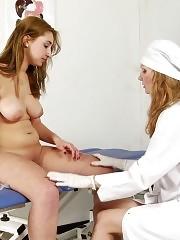 Gyno exam lesbians nude