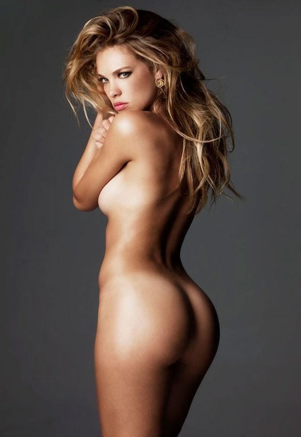 Playboy model naked beach