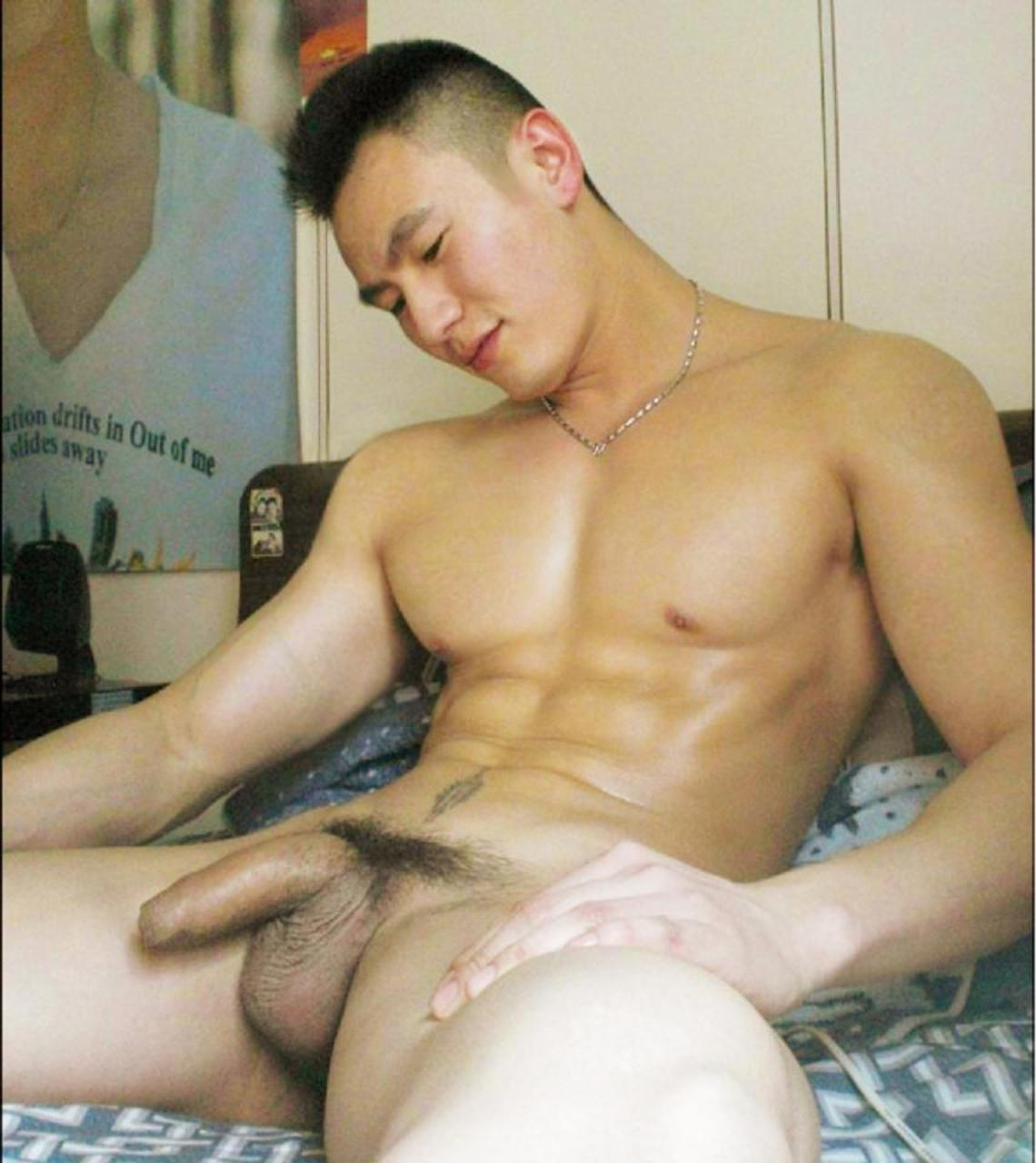 Hot naked asian men with big cocks