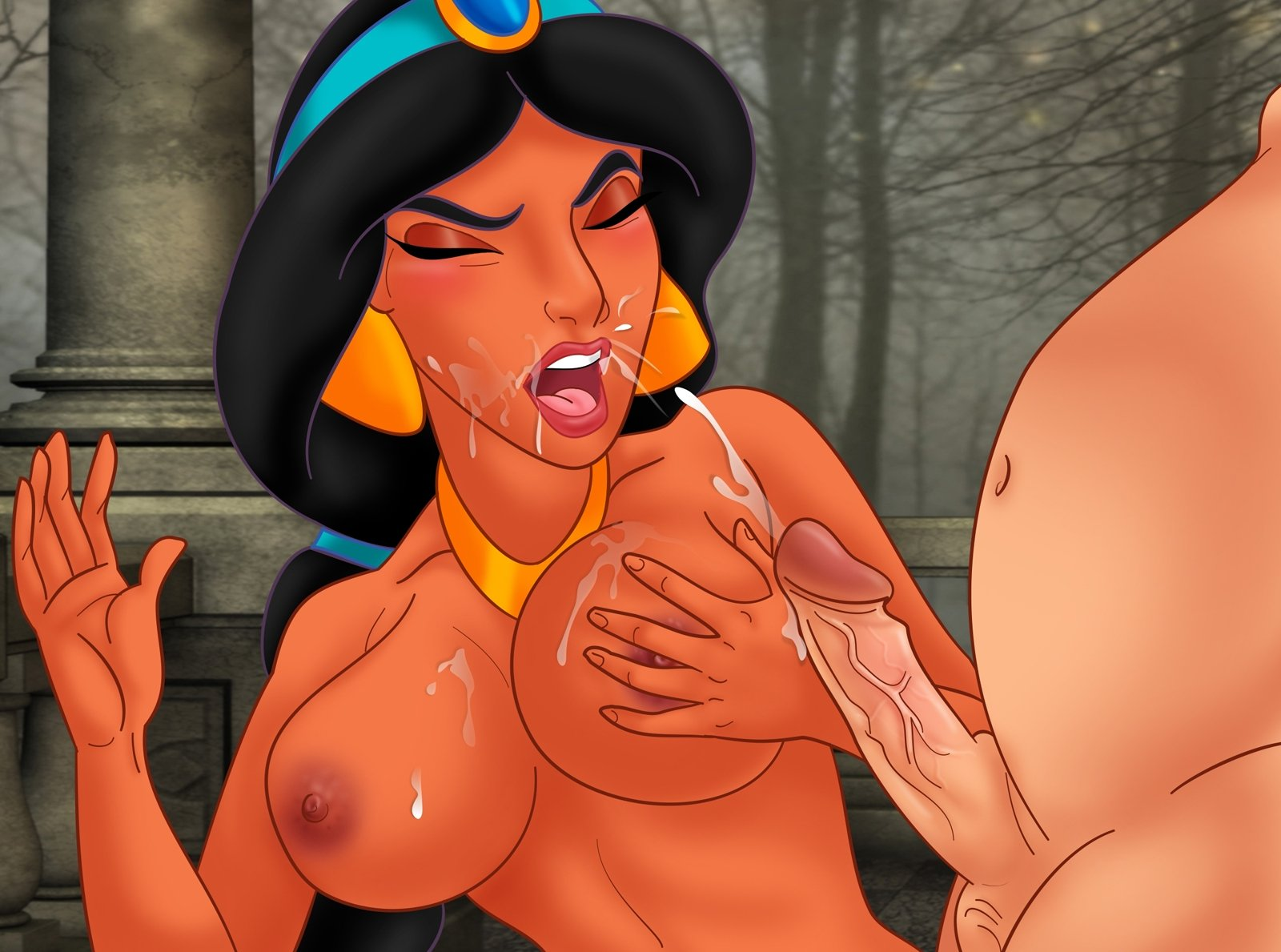 Disney princesses sucking dicks