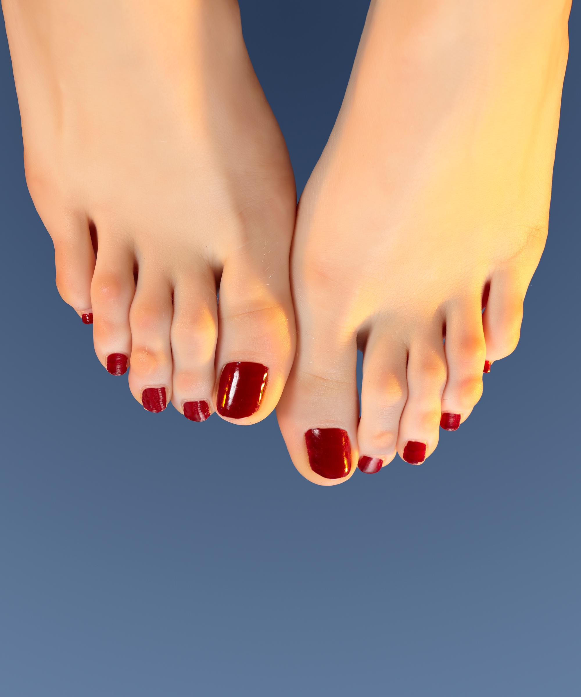 Public foot fetish group