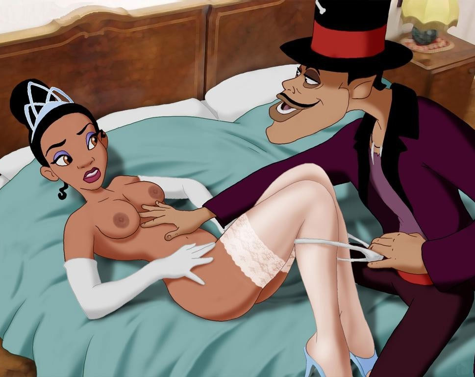 The princess and the frog sex