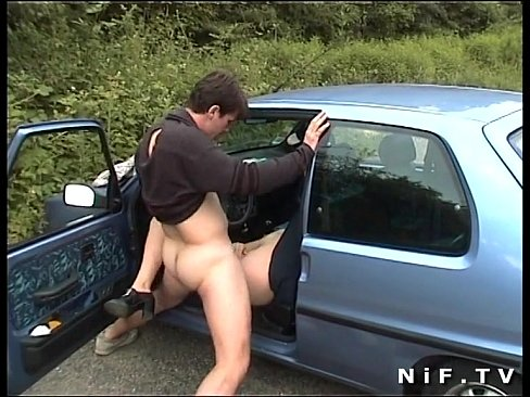 Amateur anal in car