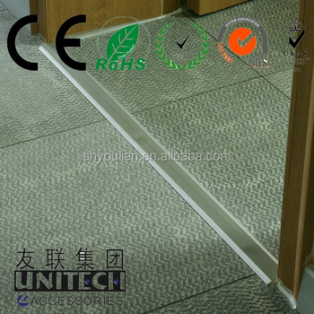 Plastic strips for aluminum fence