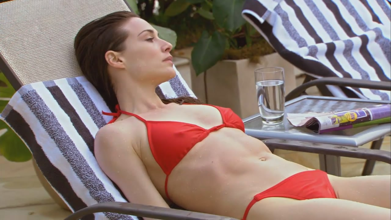Claire forlani topless beach