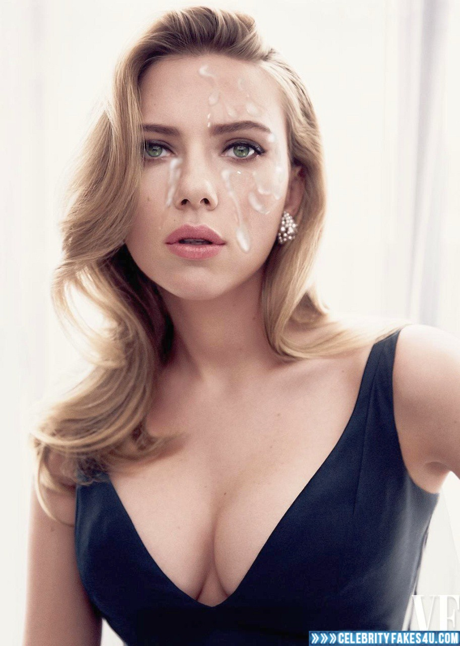 Scarlett johansson cumshot